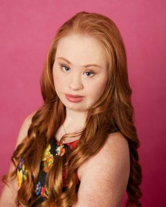 Maddy's mom, Roseanne, said she is modeling to spread awareness about Down syndrome.